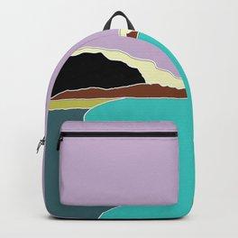 Honfleur harbor Backpack