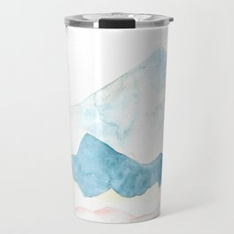 silver mountains Travel Mug