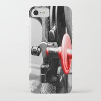 sewing iPhone & iPod Cases featuring Sewing Machine by Four Hands Art
