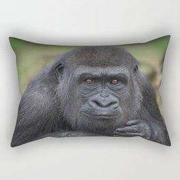 Gorilla Youngster Rectangular Pillow