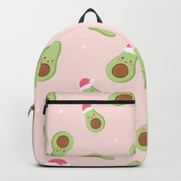 Cute Christmas Avacado Backpack