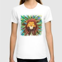 simba T-shirts featuring Spirit of The Lion King by EmeraldSora