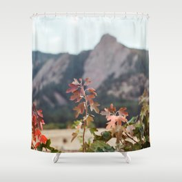 Fall in Boulder Shower Curtain