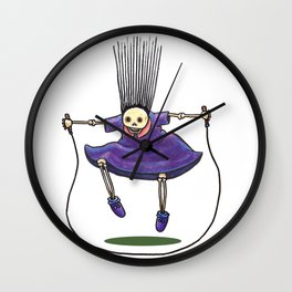 Jumprope Girl Wall Clock