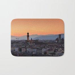 Panorama of Duomo Santa Maria Del Fiore Bath Mat
