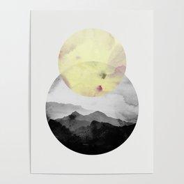 landscape montain nature Poster