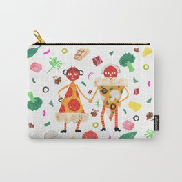 Pizza Folk Carry-All Pouch