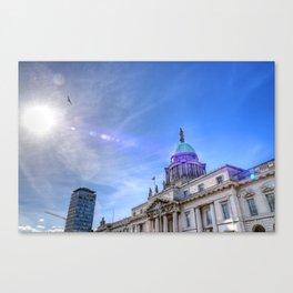 Custom House - Dublin Canvas Print