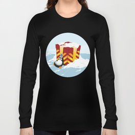 Greedy penguin Long Sleeve T-shirt