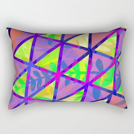 Stepping Boundaries Rectangular Pillow