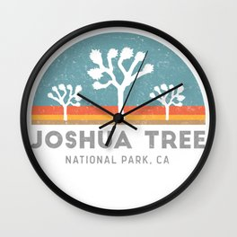 Joshua Tree National Park California Wall Clock