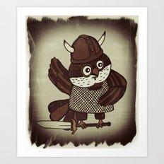 The Wisest Viking Art Print