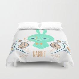 Scandi Rabbit Duvet Cover