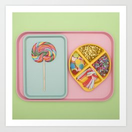 Party Tray Art Print