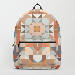 Autumn Quilt Mandala Backpack