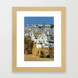 Albufeira old town, Portugal Framed Art Print