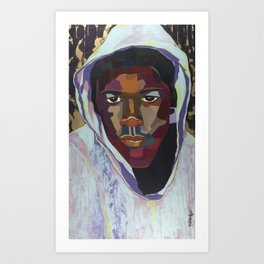 The Tribute Series-Trayvon Martin Art Print
