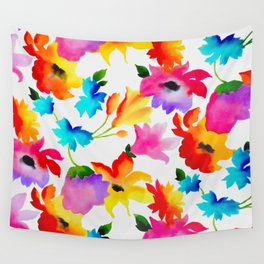 Dancing Floral Wall Tapestry