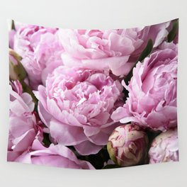 Dream on, Peonies... Wall Tapestry