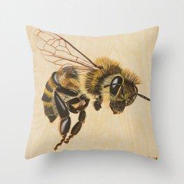 Bee VII (Artemesia) Throw Pillow