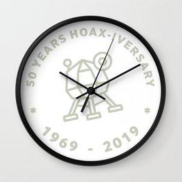MOON LANDING 50TH ANNIVERSARY Wall Clock
