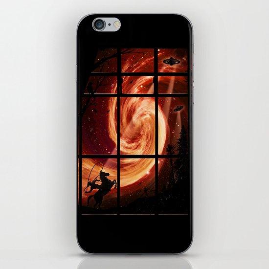 The Encounter iPhone & iPod Skin