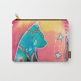 Super Cat - fantastic animal - by LiliFlore Carry-All Pouch