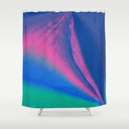 Gush and Wind Shower Curtain