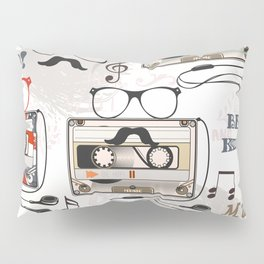 Hipster design pattern Pillow Sham