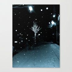 WHITEOUT : Wintree Canvas Print