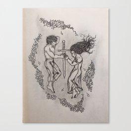 Tristan & Isolde Canvas Print