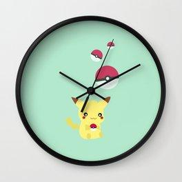 Pik Pik Pik Pik Wall Clock