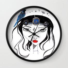 Space Queen Wall Clock