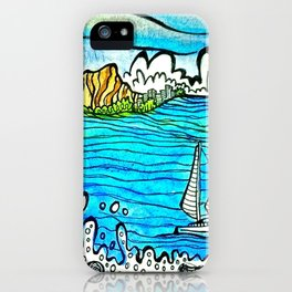 Ala Moana Lookout iPhone Case