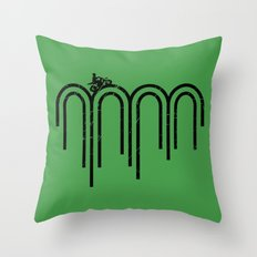 Kickstart Throw Pillow