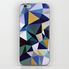 Abstract Geometric Triangle Pattern iPhone Skin