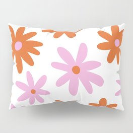 Bright Floral Pillow Sham