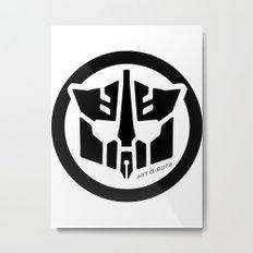 Art-O-Bots Metal Print
