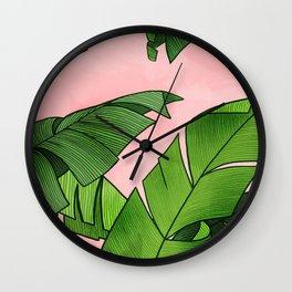 Tropicalia Wall Clock
