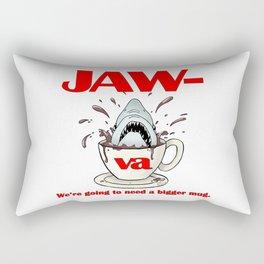 Jaw-va Rectangular Pillow