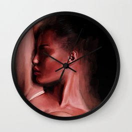 Reclining Woman Wall Clock