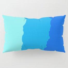 Minimal Mountain Range Outdoor Abstract Pillow Sham
