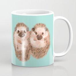 Twin Hedgehogs Coffee Mug