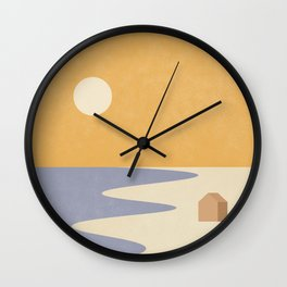 Tiny House #2 Wall Clock