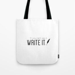 Writing urges #2 Tote Bag