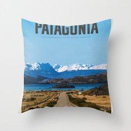 Visit Patagonia Throw Pillow