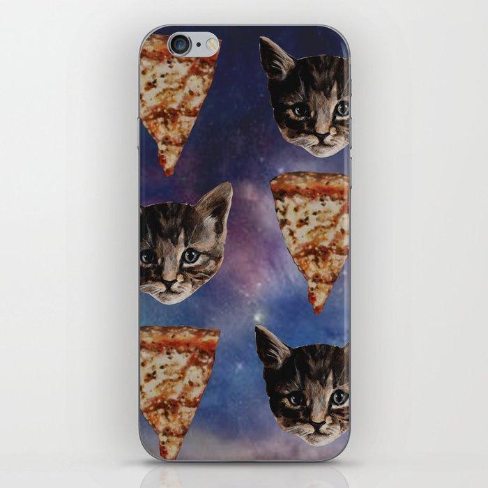 Kitten Pizza Galaxy  iPhone Skin