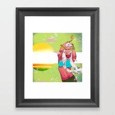 Solar Artifakt Solar Framed Art Print
