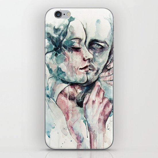 forever yours freckles iPhone & iPod Skin