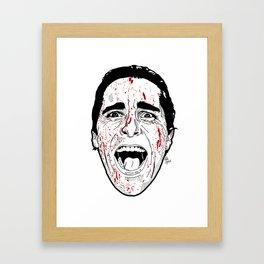 Mr Bateman Framed Art Print